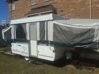 STOLEN!2002 Coleman Cottonwood pop up trailer..please read! K-W