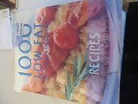 extremely thick light cooking cook book