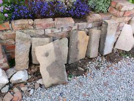 Rockery stones, job lot