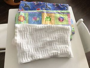 Baby blankets set of 3