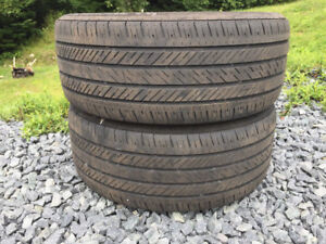 Two 225/45R17 Summer Tires Excellent Tread