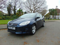 Stunning Ultra Low Mileage 2012 Ford Focus 1.6TDCi Edge Only £20 A Year Tax