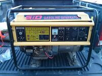 GIO GENERATOR 6500W ELECTRIC START BRAND NEW best offer