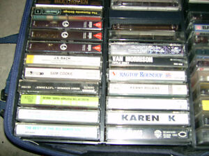 Audio Cassettes of Various Artists and classical music