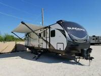 2021 HEARTLAND SUNDANCE 11 MODELS American Caravan Showman 5th Wheel RV Trailer