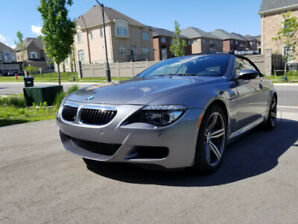2008 BMW M6 Cabriolet, 6 Speed Manual for Sale! RARE!