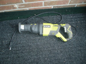 """Reciprocating Saw / 16 """" Trimmer / Cordless Drill"""