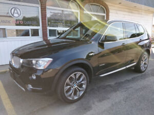2017 BMW X3 xDrive 28i AWD, Fully loaded -  $315 b/w on the road