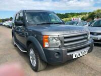 Land Rover Discovery 3 2.7TD V6 auto 2008MY SE NEW cam belt 7 seater