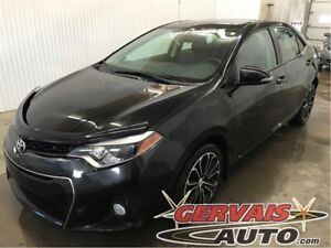 Toyota Corolla S Cuir/Tissus MAGS Bluetooth 2016