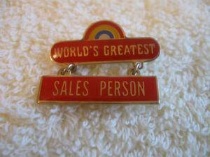 CLASSY COLLECTIBLE PIN FOR the SALESMAN in YOUR LIFE
