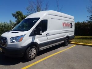 2017 Ford Transit 350 white cargo van , $1,170+tax -350 monthly