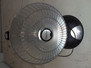 Parabolic heater - Not used much.