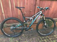 2015 specialized camber comp carbon large frame with upgrades