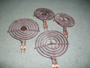 Used Stove Elements  Set - Paddle Connectors