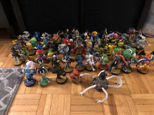 Large Collection of Amiibo for sale