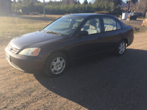 2001 Honda Civic Manual 5 Speed