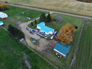 Ranch/Farm established yard & land