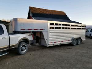 Featherlite Stock Trailer/Horse Trailer