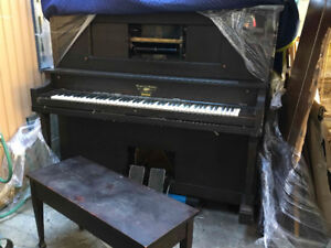 Antique Player piano