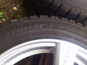 Set of 4 winter tires, mounted on rims North Shore Greater Vancouver Area image 6