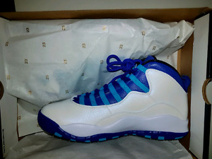 DS Air Jordan 10 Charlotte size 9.5