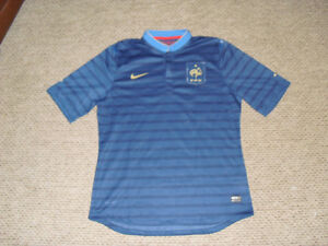 Like New FFF French soccer football jersey Nike authentic 2XL