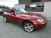 MAZDA MX-5 RED PETROL CONVERTIBLE