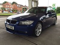 BMW 320D M SPORT LE MANS BLUE LOW MILEAGE