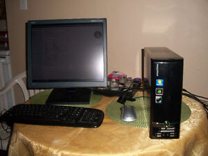 Computer System  Tower,Monitor,Keyboard and mouse. $125.00