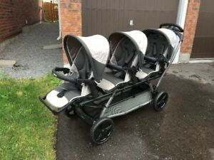 Peg Perego Triple Stroller for Sale