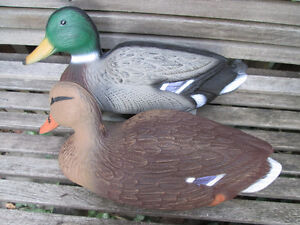 A Pair (2-two) Flambeau Classic Mallards, 14-in New Unused London Ontario image 2