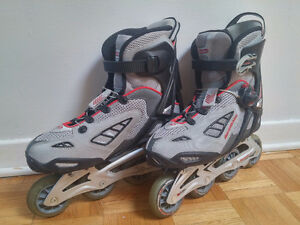 Rollerblade 10.5 Specialized Astro6 + protège-poignets