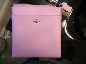 Beautiful authentic COACH Kitt Messenger Bag, Dark Mauve