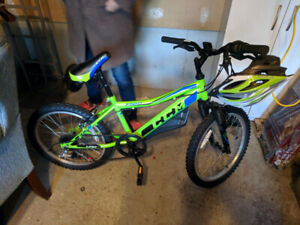 Kid's Bicycle, lime green
