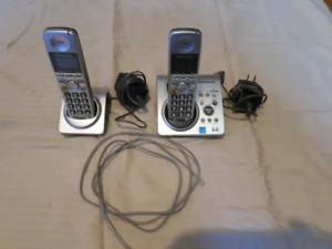 Téléphone sans fil maison double