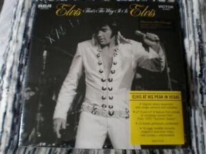"""ELVIS PRESLEY """"That's The Way It Is"""" 4 LP RCA LSP-4445 SEALED"""