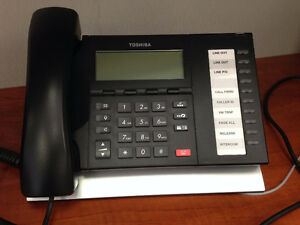 Toshiba Phone System - 34 Phones and IPBCS for $700