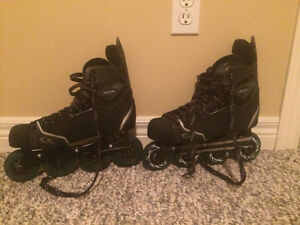 LIKE NEW CCM ROLLER BLADES