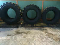 Brand New Skid Steer Tires 10 -16.5, 12 -16.5 and 14 -17.5