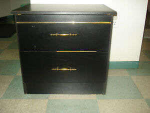black color side table