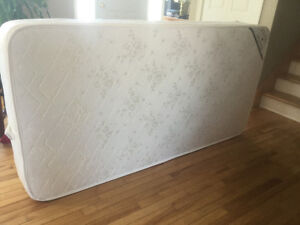 SOLD!! - Single mattress and box spring