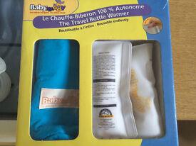 Baby moov travel bottle warmer brand new!