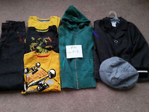 Amazing Boys Blazer, Jeans, tops clothes size 5/6 - PACK #5