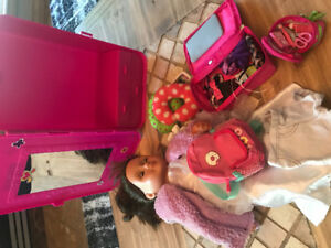 My Lift Doll with lots of extras!