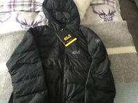 Jack wolfskin xl ladies down jacket brand new