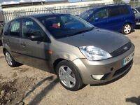Ford Fiesta 14 tdci full mot 30 pounds a year to tax 495
