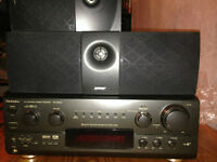 HOME THEATER 5.1 DTS RECEIVER & 6 SPEAKERS NEGOTIABLE