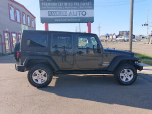 2010 Jeep Wrangler 4dr Auto 99000km Financing available