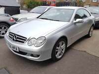 2006 Mercedes CLK 3.0 280 Avantgarde Automatic Petrol 2dr 1F Owner FSH Warranty
